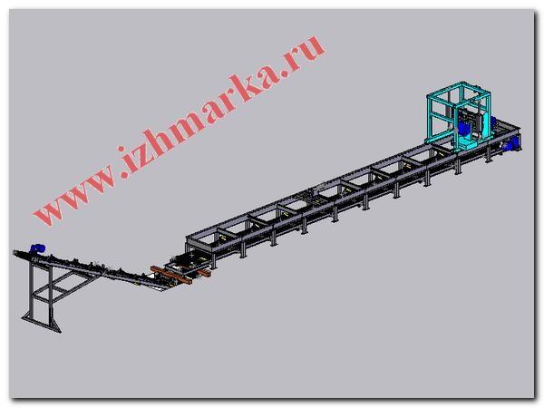 ленточный транспортер для уборки стружки