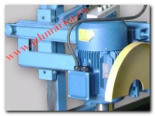 Угловая пилорама мощностью 11 кВт